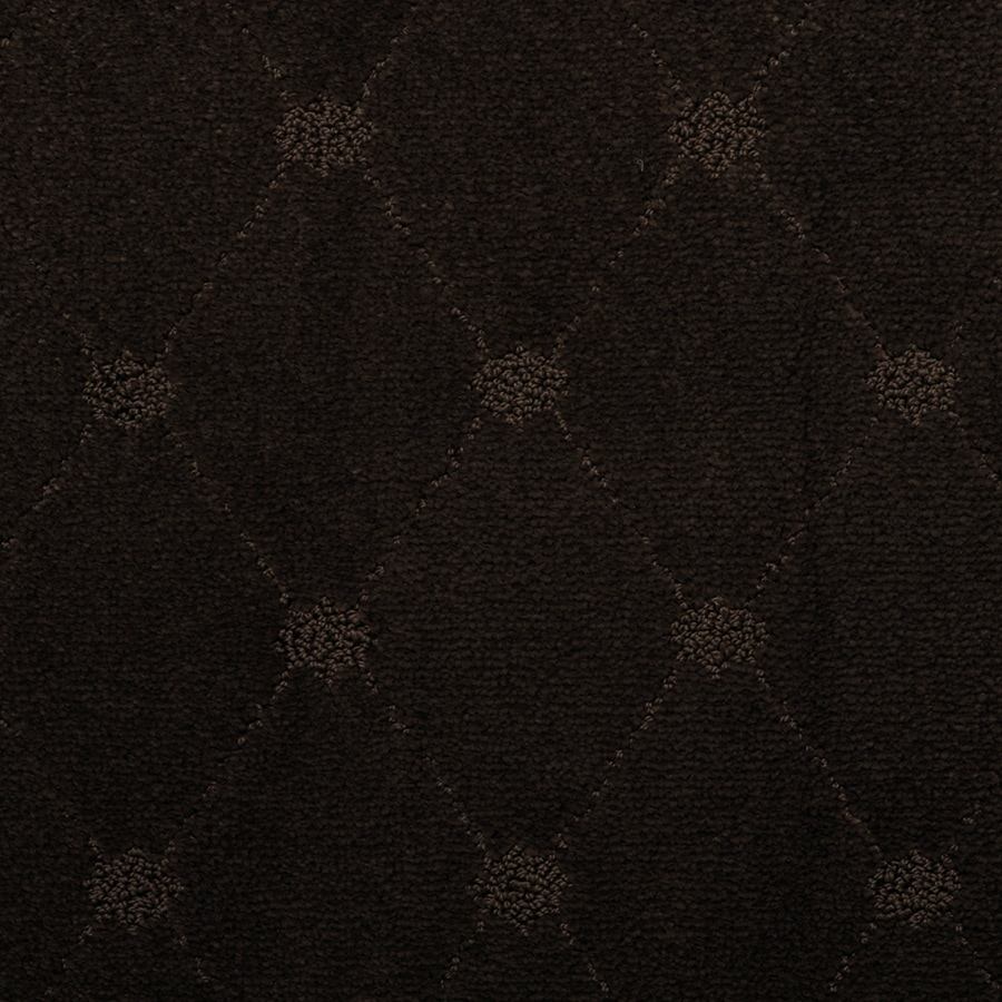 STAINMASTER TruSoft Hunts Corner Basket Pattern Interior Carpet