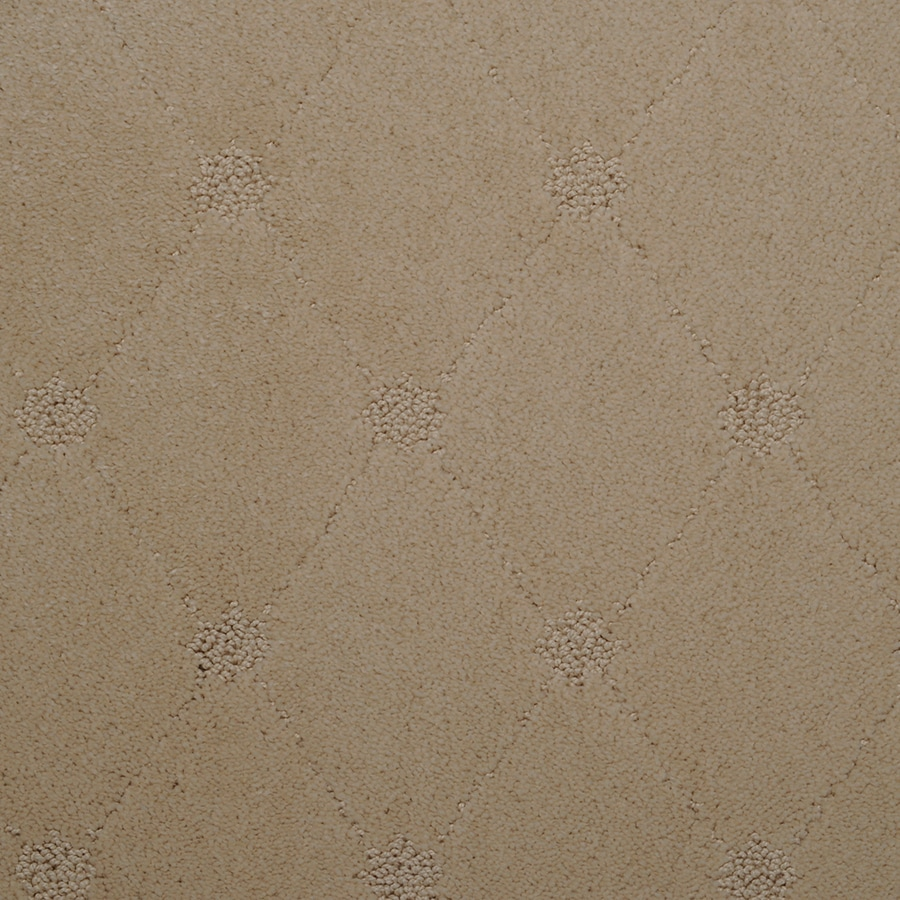 STAINMASTER TruSoft Hunts Corner 12-ft W x Cut-to-Length Shimmer Pattern Interior Carpet