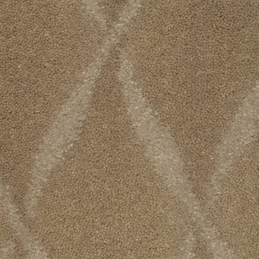 STAINMASTER TruSoft Vineyard Manor Arrow Wood Cut and Loop Indoor Carpet