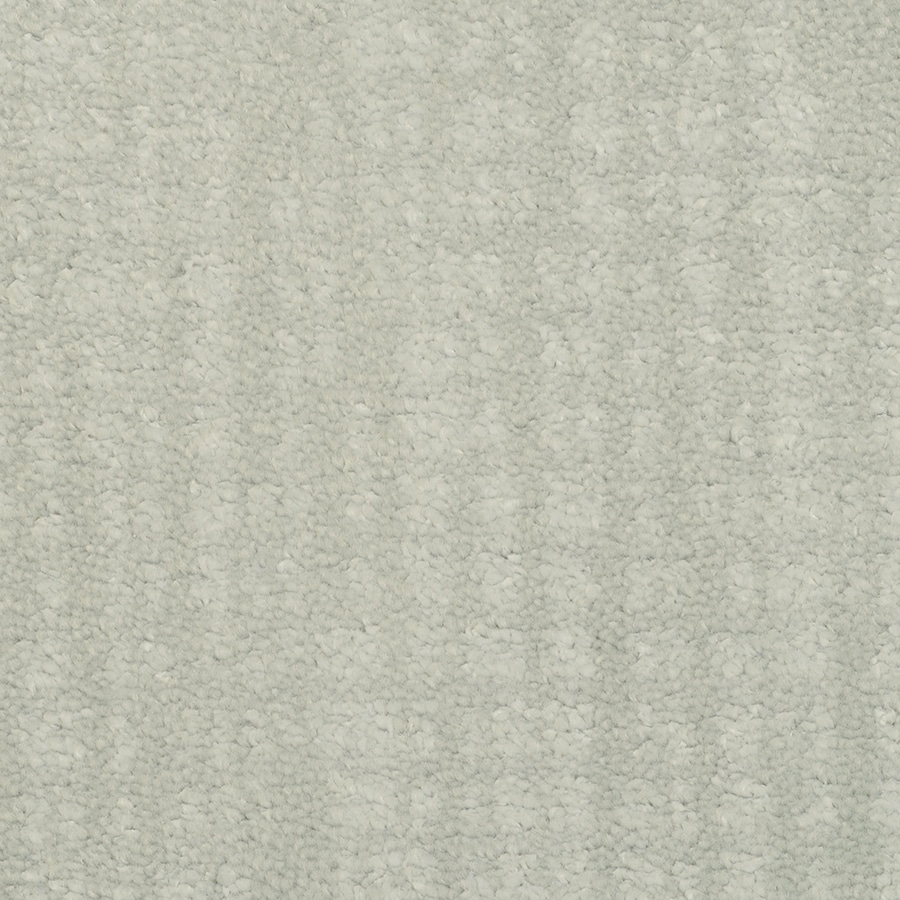 STAINMASTER TruSoft Pine Chapel Artic Sky Cut and Loop Indoor Carpet