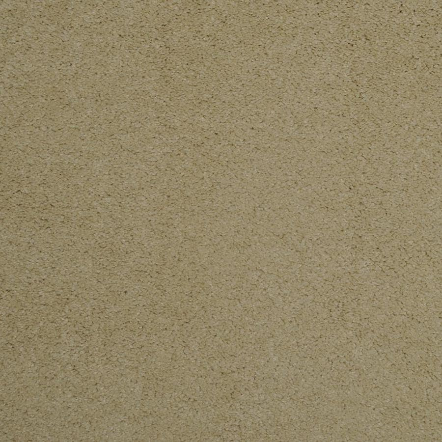 STAINMASTER Trusoft Best Of Class Touch Of Lemon Plush Interior Carpet