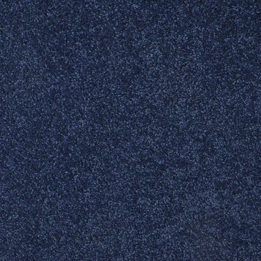 STAINMASTER TruSoft Best of Class 12-ft W x Cut-to-Length Blue Steel Plush Interior Carpet
