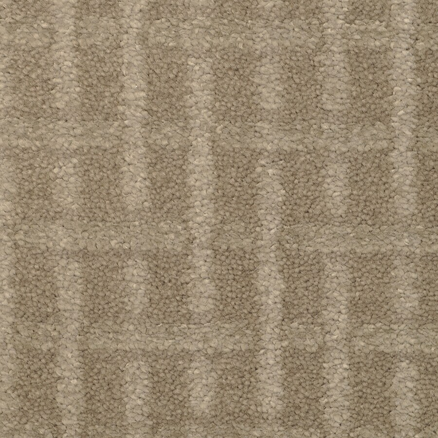 STAINMASTER TruSoft Chateau Avalon Arrow Wood Cut and Loop Indoor Carpet
