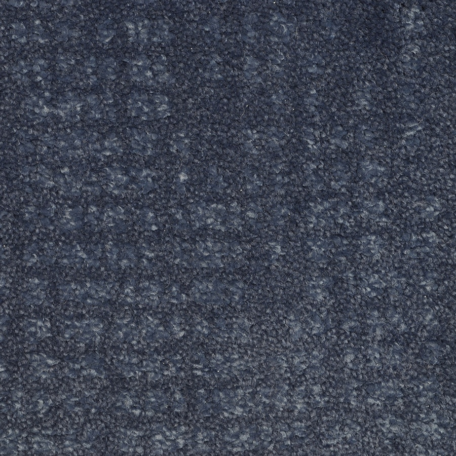STAINMASTER Pine Chapel Blue Note Rectangular Indoor Tufted Area Rug (Common: 8 x 10; Actual: 96-ft W x 120-ft L)