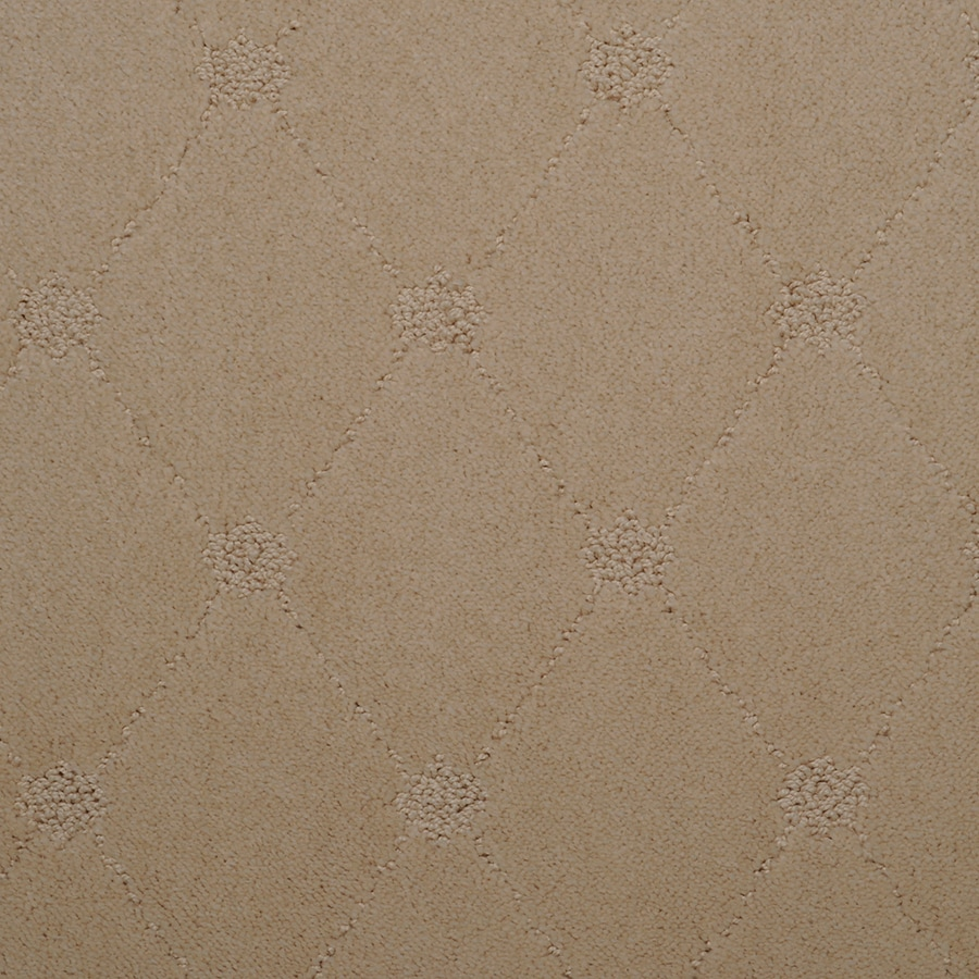 STAINMASTER Hunts Corner Dutch Cream Rectangular Indoor Tufted Area Rug (Common: 6 x 9; Actual: 72-ft W x 108-ft L)