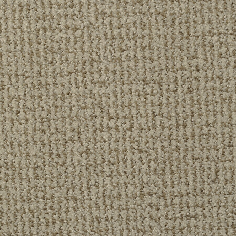 STAINMASTER Morning Jewel Cosmic Latte Rectangular Indoor Tufted Area Rug (Common: 6 x 9; Actual: 72-in W x 108-in L)