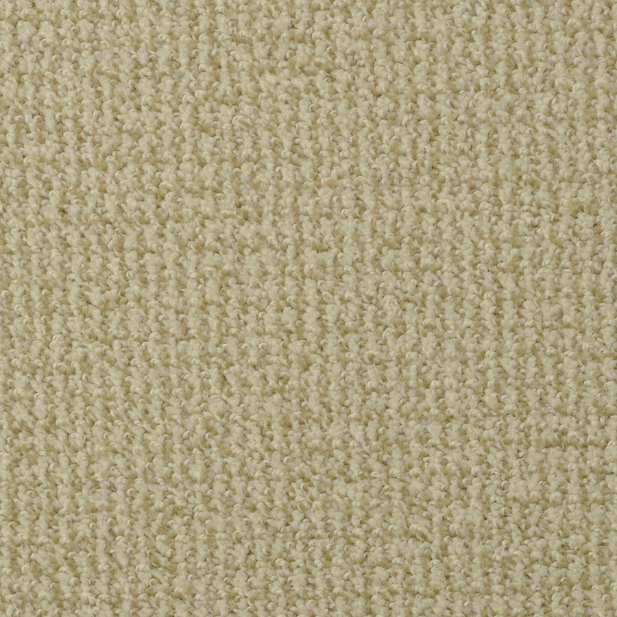 STAINMASTER Morning Jewel Almond Rectangular Indoor Tufted Area Rug (Common: 8 x 10; Actual: 96-in W x 120-in L)
