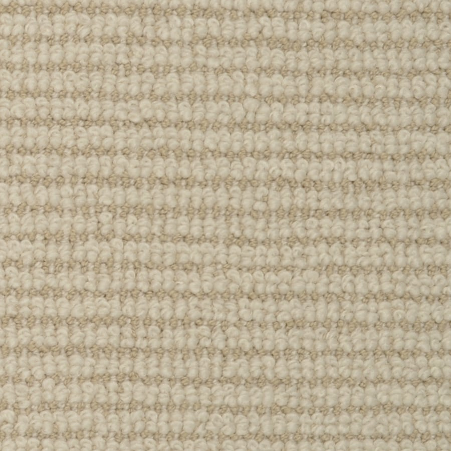 STAINMASTER Morning Glory Sugarcane Rectangular Indoor Tufted Area Rug (Common: 8 x 10; Actual: 96-ft W x 120-ft L)