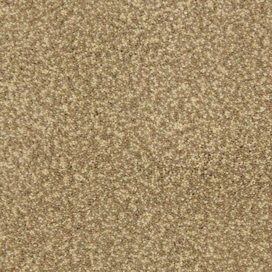 STAINMASTER PetProtect Entranced 12-ft W Sandbar Shag/Frieze Interior Carpet