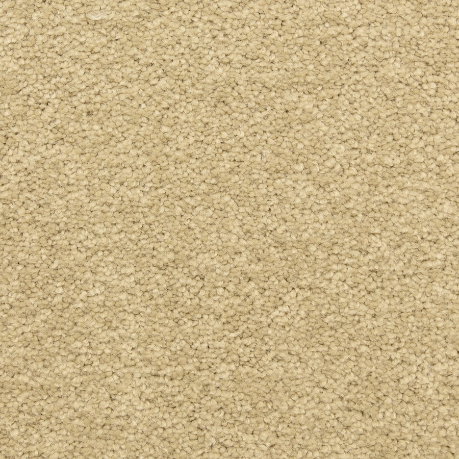 STAINMASTER LiveWell Classified 12-ft W x Cut-to-Length Warm Beige Textured Interior Carpet