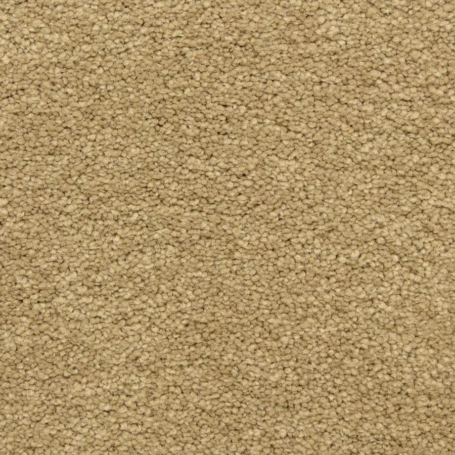 STAINMASTER LiveWell Privy 12-ft W x Cut-to-Length Gilded Glamour Textured Interior Carpet