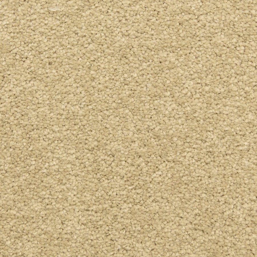 STAINMASTER LiveWell Privy 12-ft W x Cut-to-Length Warm Beige Textured Interior Carpet