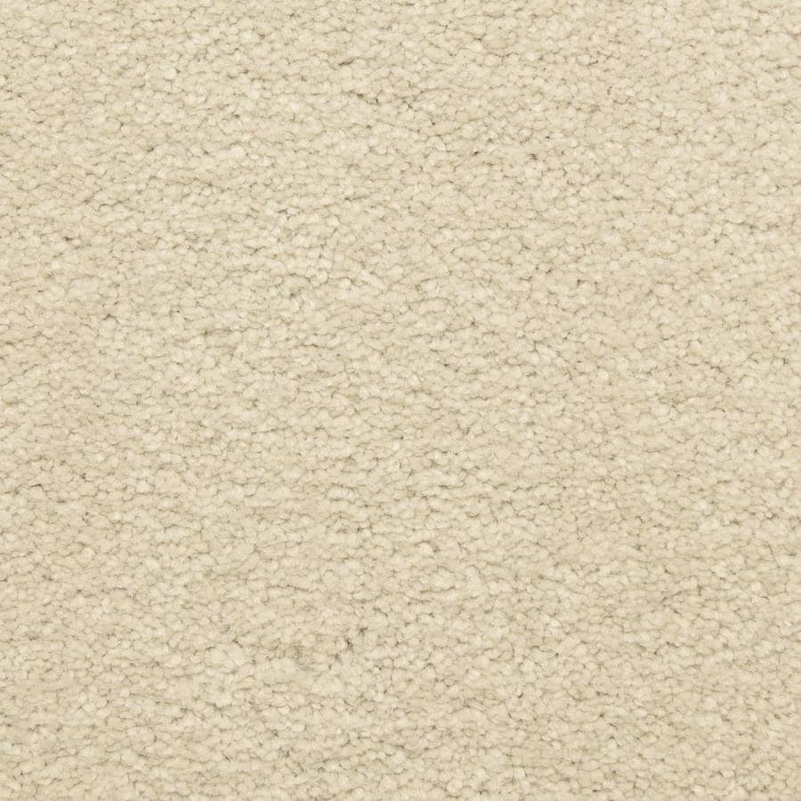 STAINMASTER LiveWell Privy 12-ft W x Cut-to-Length Gentle Cloud Textured Interior Carpet