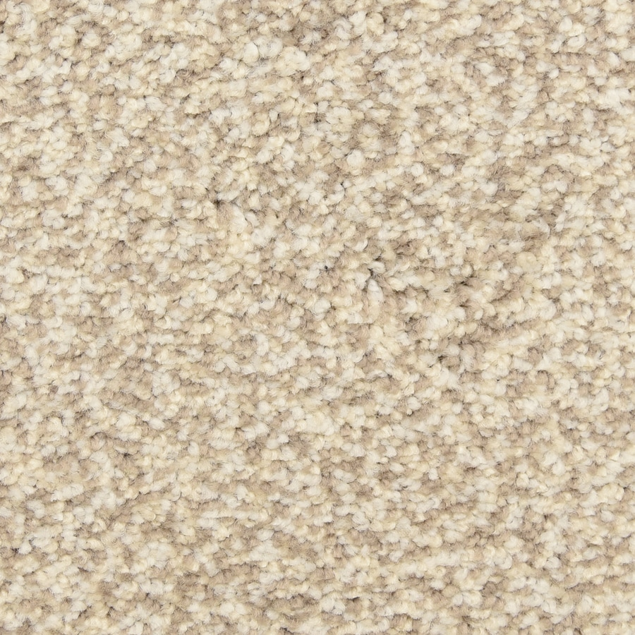 STAINMASTER LiveWell Grandstand 12-ft W x Cut-to-Length Maize Textured Interior Carpet
