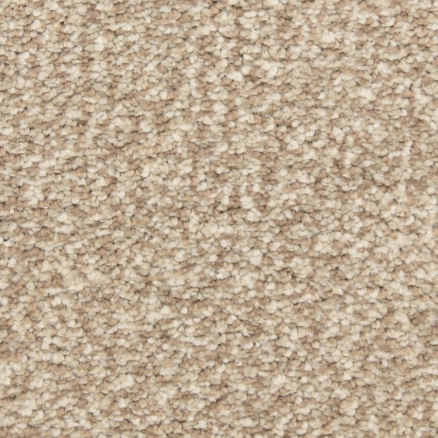 STAINMASTER LiveWell Grandstand 12-ft W x Cut-to-Length Sandalwood Textured Interior Carpet