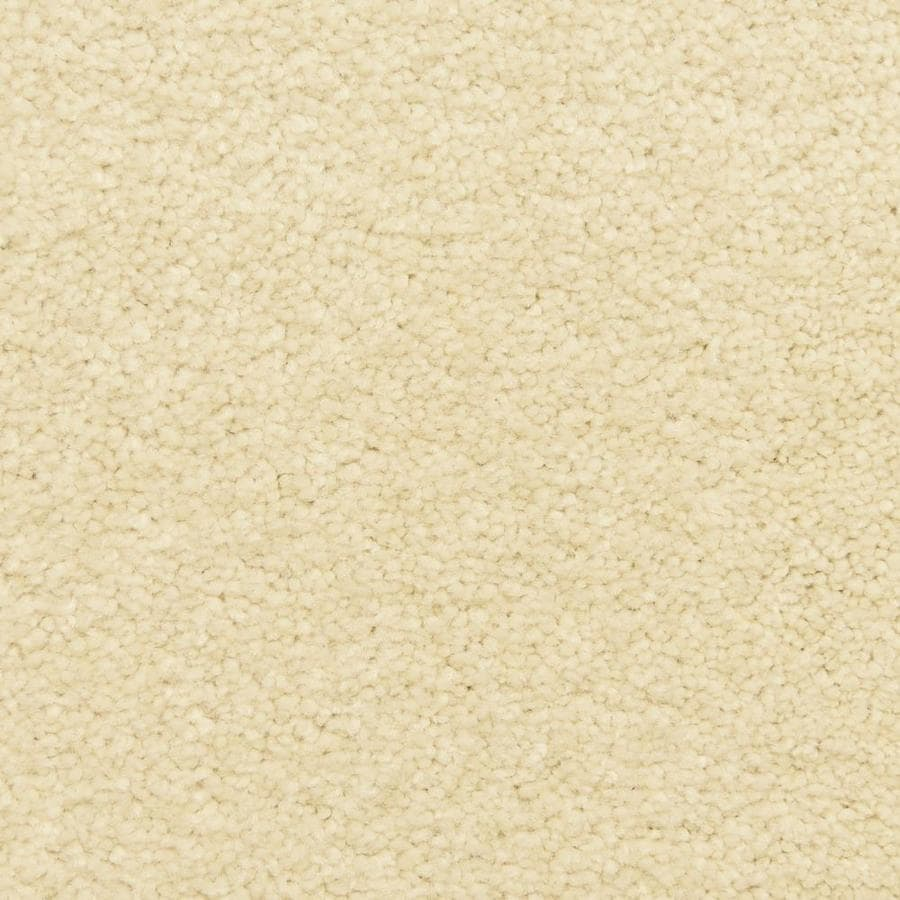 STAINMASTER LiveWell Fairy-Tale 12-ft W x Cut-to-Length Cottontale Textured Interior Carpet
