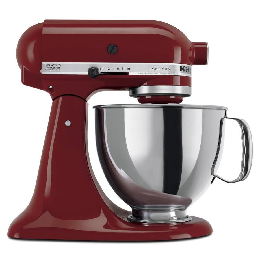 KitchenAid Artisan 5-Quart 10-Speed Gloss Cinnamon Countertop Stand Mixer