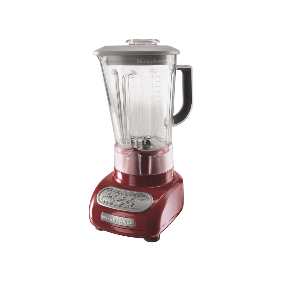 KitchenAid 56-oz Empire Red 5-Speed Blender