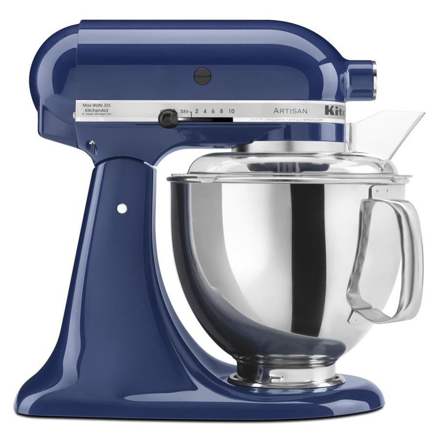 KitchenAid Artisan Series 5-Quart 10-Speed Blue Willow Countertop Stand  Mixer