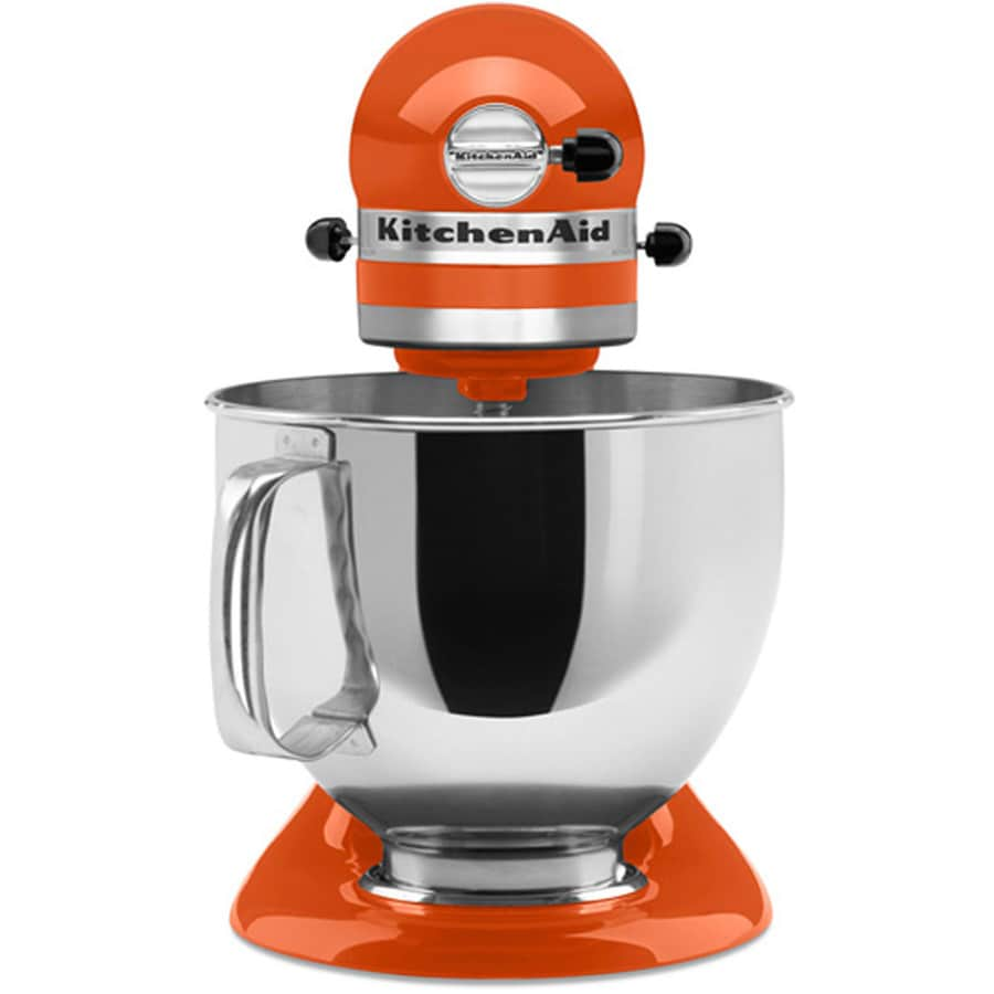 kitchenaid mixer reviews professional vs artisan chrome kitchenaid artisan series 5quart 10speed persimmon countertop stand mixer
