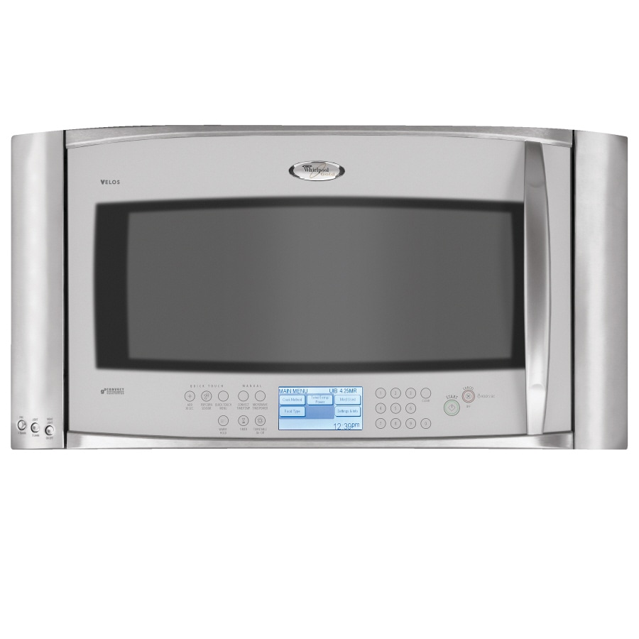 shop whirlpool gold 30 inch 2 0 cu ft over the range microwave rh lowes com Whirlpool Gold Velos Microwave Whirlpool Velos Parts