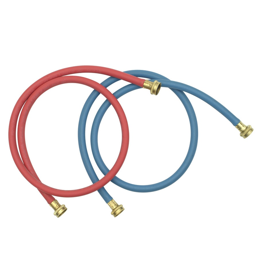 Whirlpool Commercial Grade Washer Hoses (Red and Blue)