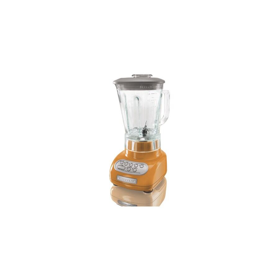 KitchenAid 56-oz Tangerine 5-Speed 0.9-Watt Pulse Control Blender