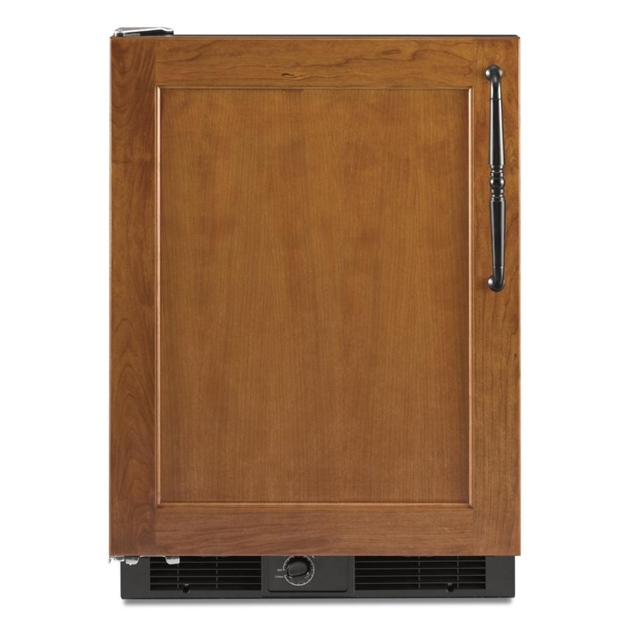 KitchenAid 5.7-cu ft Compact Refrigerator (Black Trim/Panel Ready) ENERGY STAR