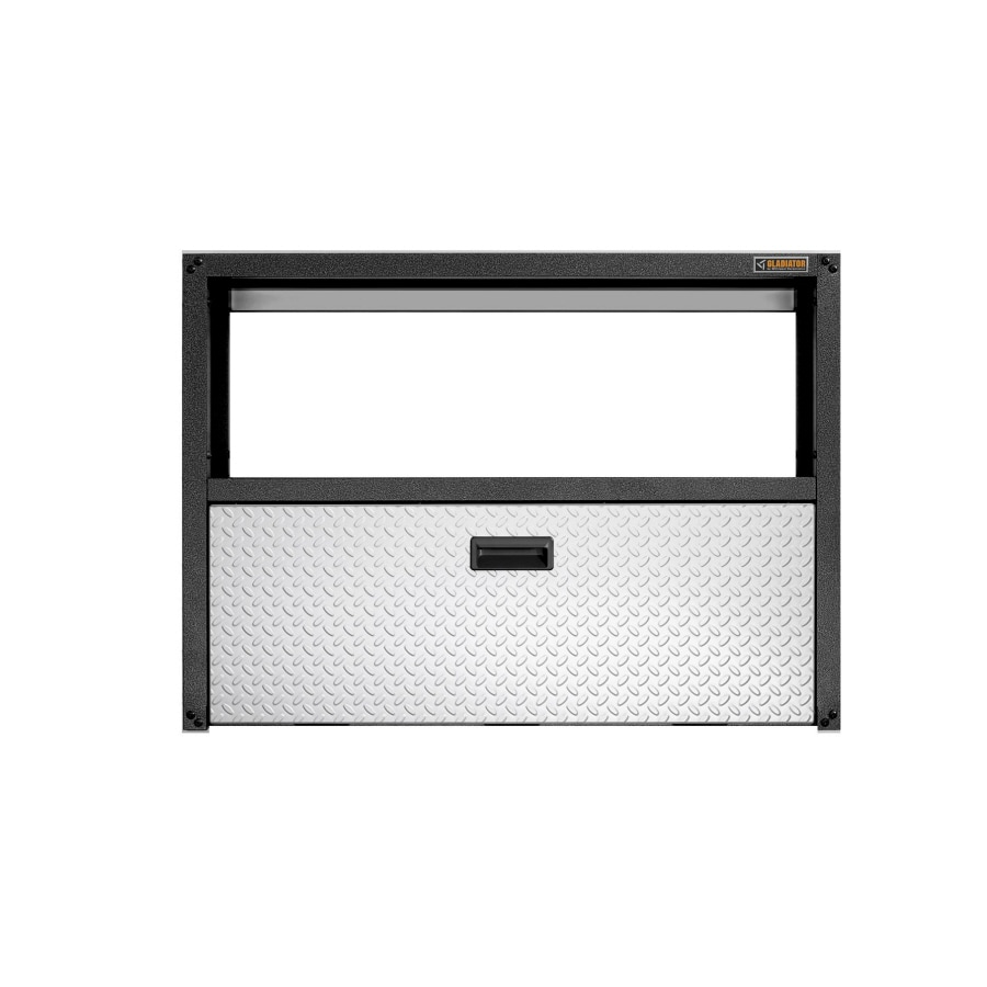 Gladiator 42-in W x 30.5-in H x 10-in D Steel Wall Mounted Shelving
