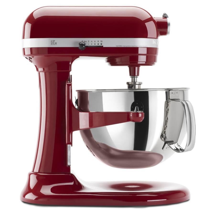 KitchenAid Professional 600 6 Quart 10 Speed Empire Red Countertop Stand  Mixer