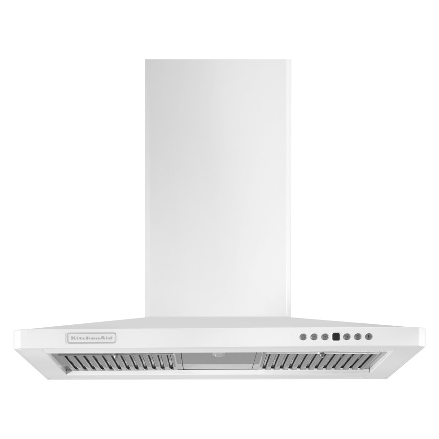 KitchenAid® 30 Inch Wall Canopy Range Hood (Color: White)