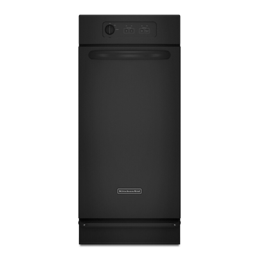 KitchenAid 15-in Black Undercounter Trash Compactor