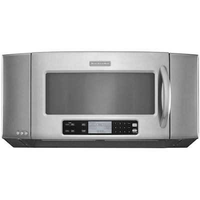 2 Cu Ft Over The Range Microwave With Sensor Cooking Controls Stainless Steel Common 36 In Actual 35 875