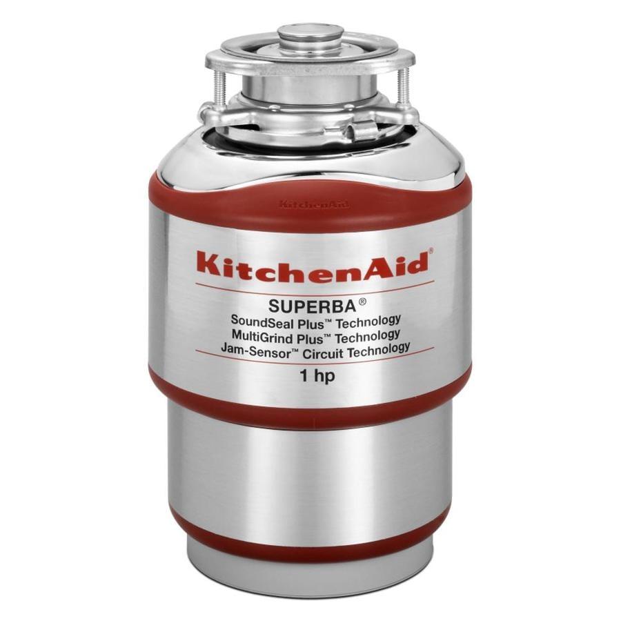KitchenAid 1-Hp Noise Insulation Garbage Disposal