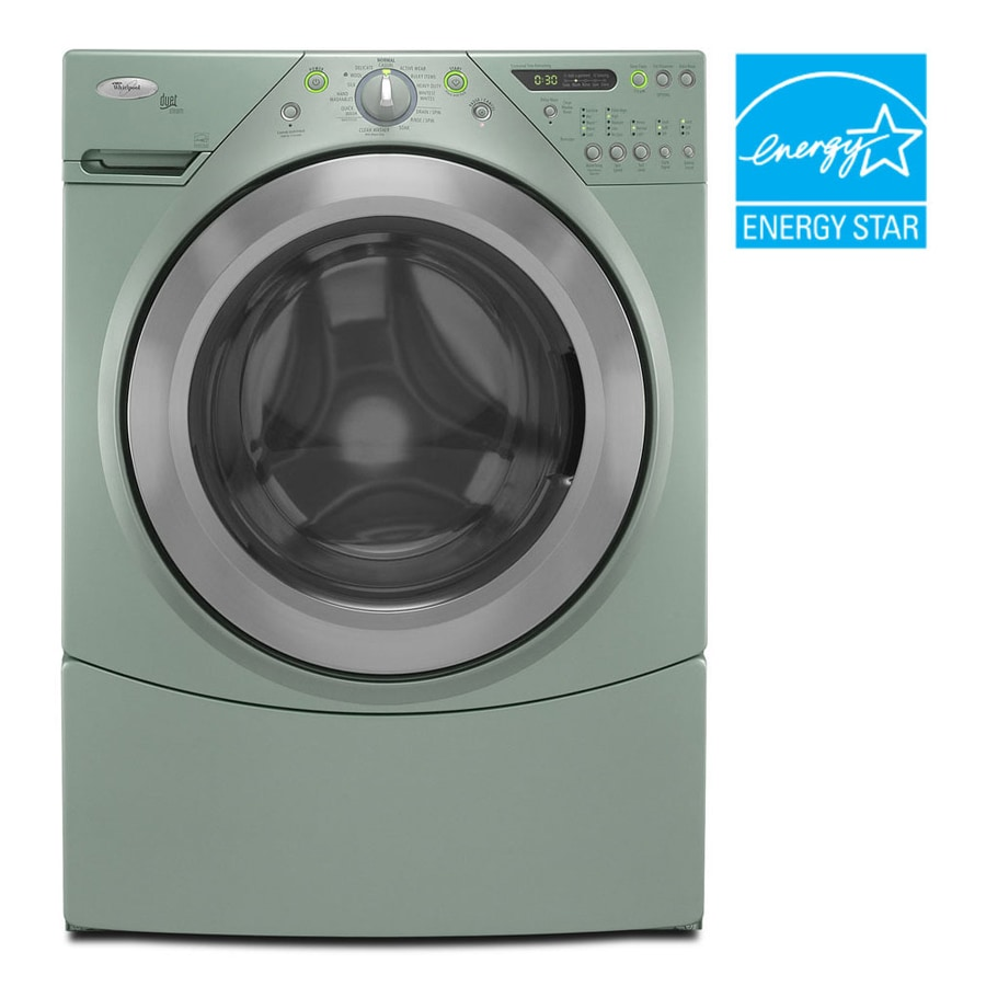 Shop Whirlpool 174 4 0 Cu Ft Duet 174 Steam Washer Color