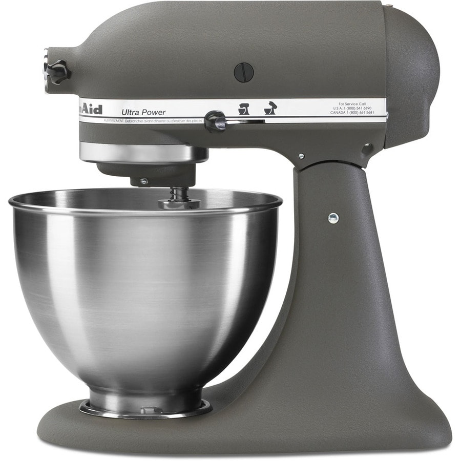 Shop KitchenAid Ultra Power 4.5-Quart 10-Speed Imperial Grey Stand ...
