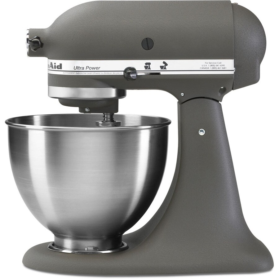 Grey Kitchenaid Mixer: Shop KitchenAid Ultra Power 4.5-Quart 10-Speed Imperial