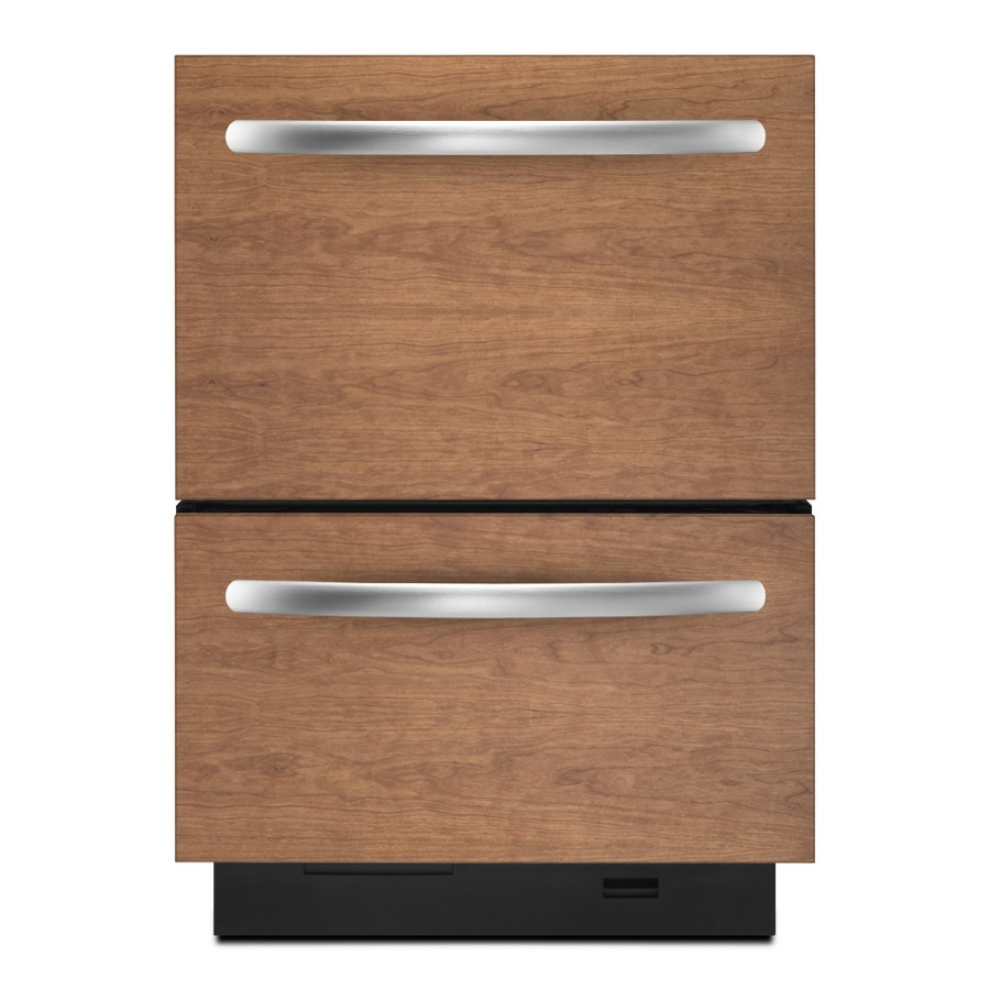 Kitchenaid 23 375 Inch Double Drawer Dishwasher Color Custom Panel