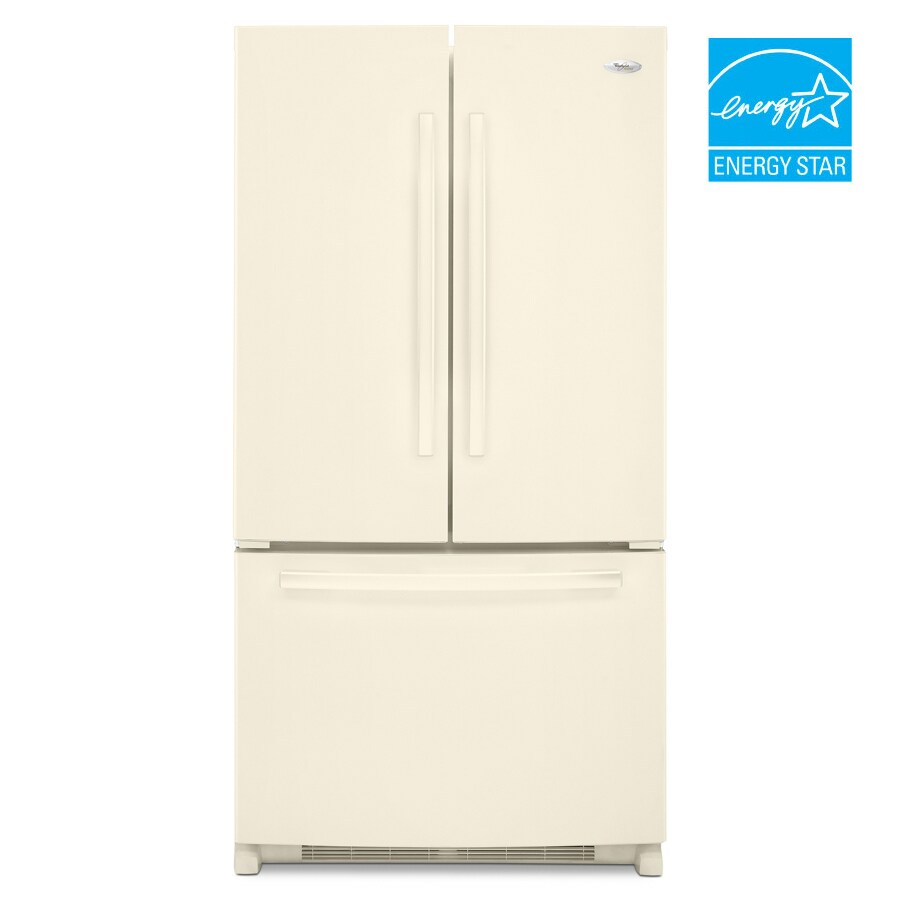 Shop whirlpool gold 24 8 cu ft french door bottom mount for Refrigerator coloring page