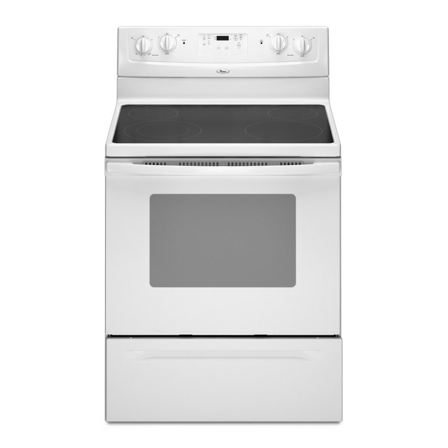Whirlpool® 30-Inch Freestanding Electric Range (Color: White)