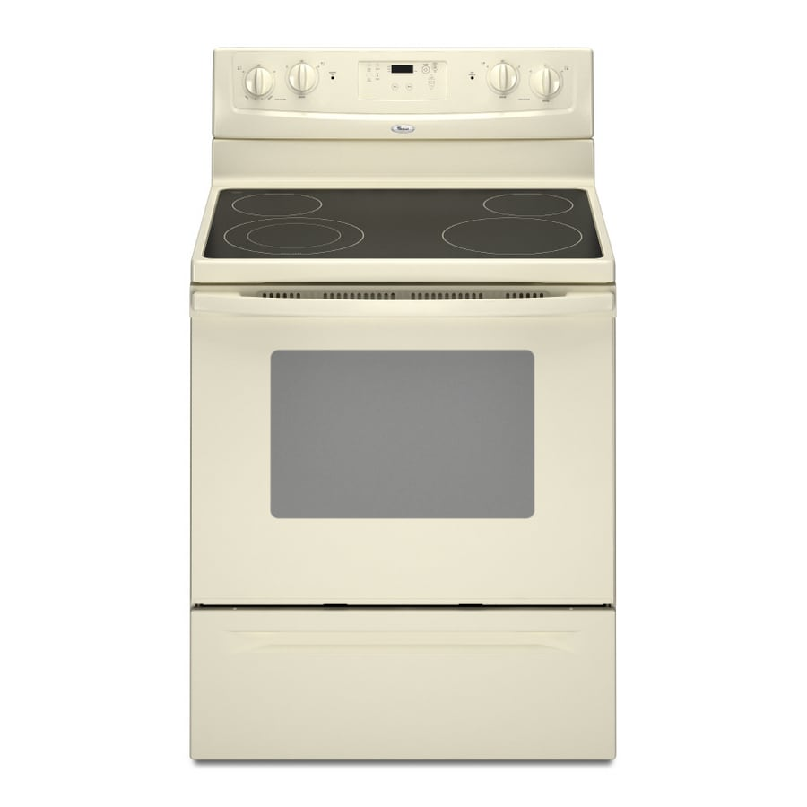 Whirlpool� 30-Inch Freestanding Electric Range (Color: Biscuit)