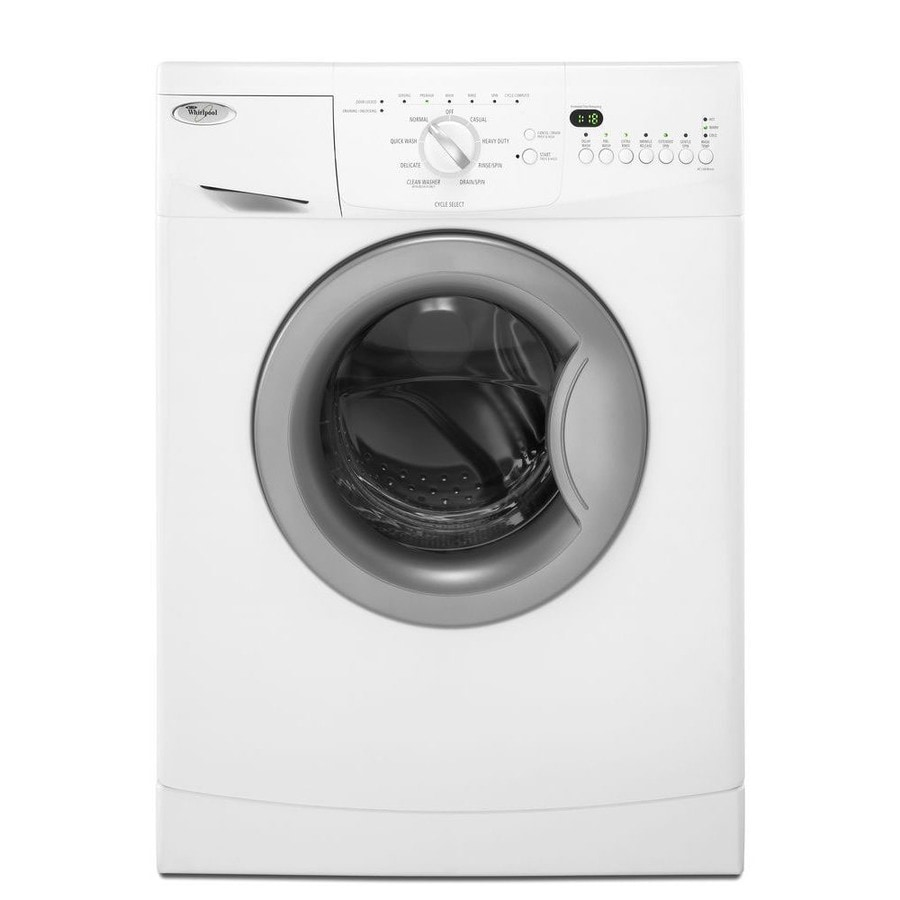 Whirlpool 2 Cu Ft Stackable Front Load Washer White At