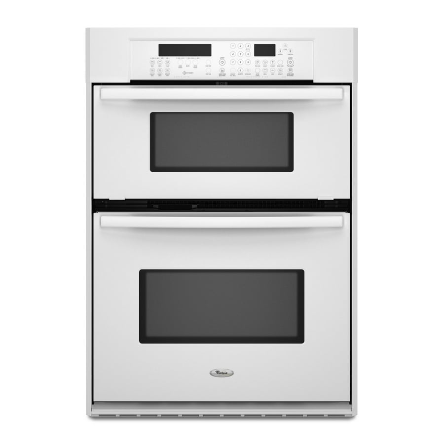 Whirlpool Gold 29.75-Inch Microwave Wall Oven Combo (Color