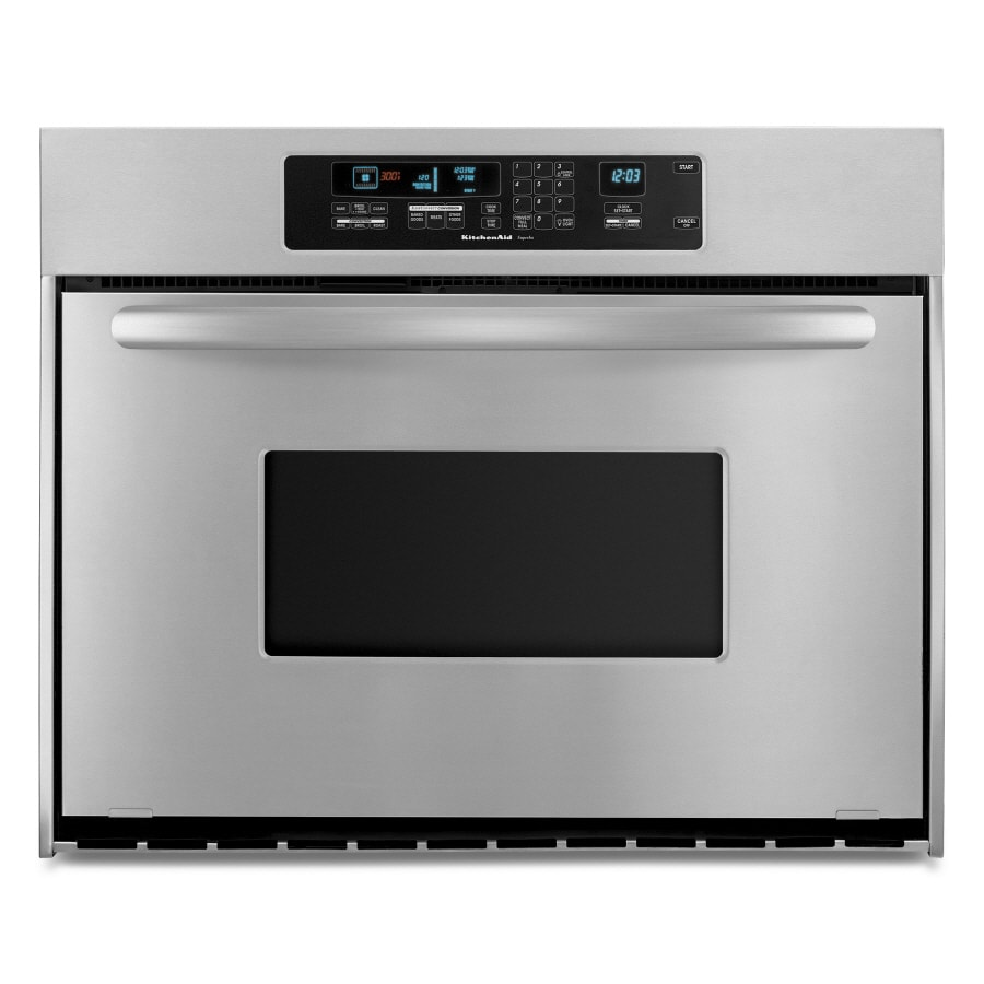 Kitchenaid 36 Inch Single Electric Wall Oven Color Stainless Steel