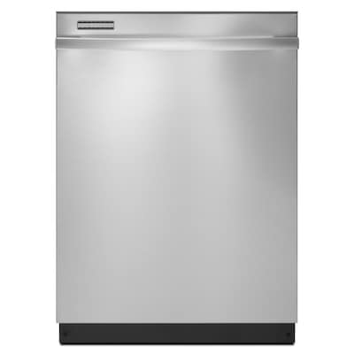 59 Decibel And Hard Food Disposer Built In Dishwasher Monochromatic Stainless Steel Common 24 Inch Actual 23 875