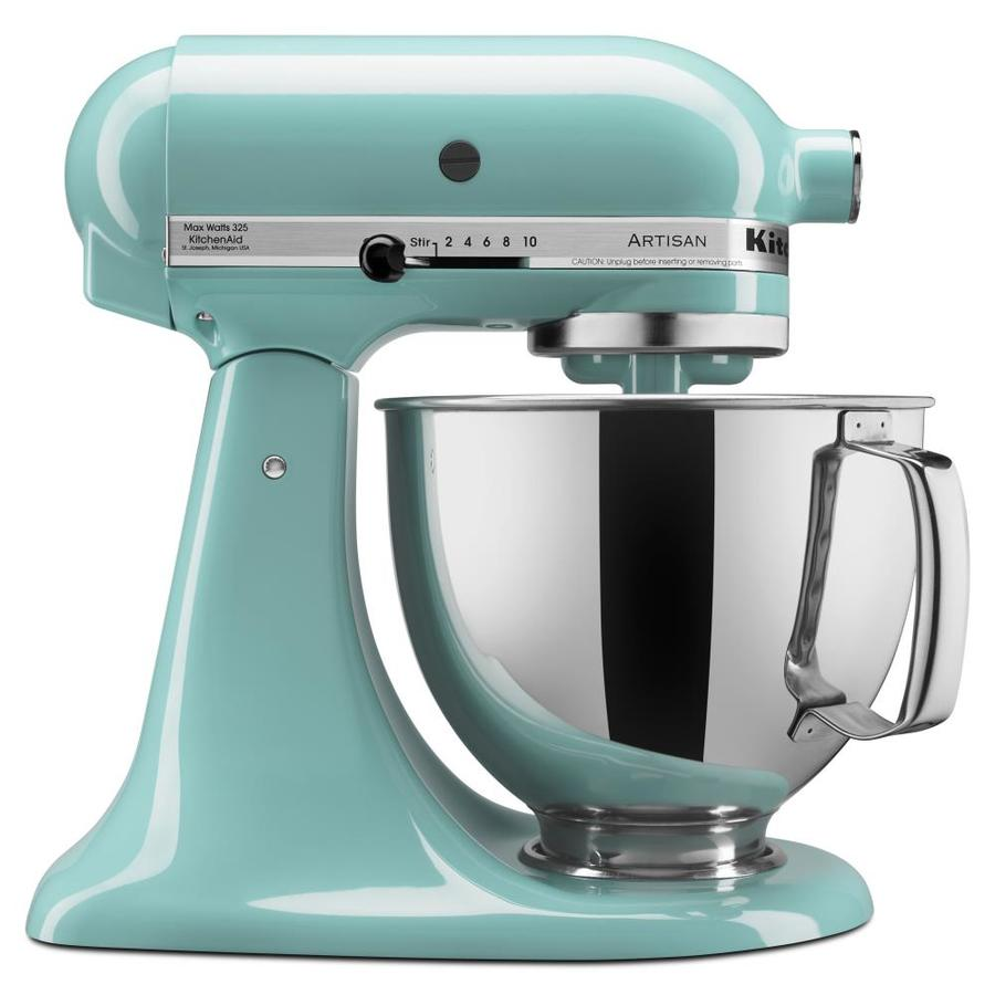 KitchenAid Artisan 5 Quart 10 Speed Aqua Sky Countertop Stand Mixer