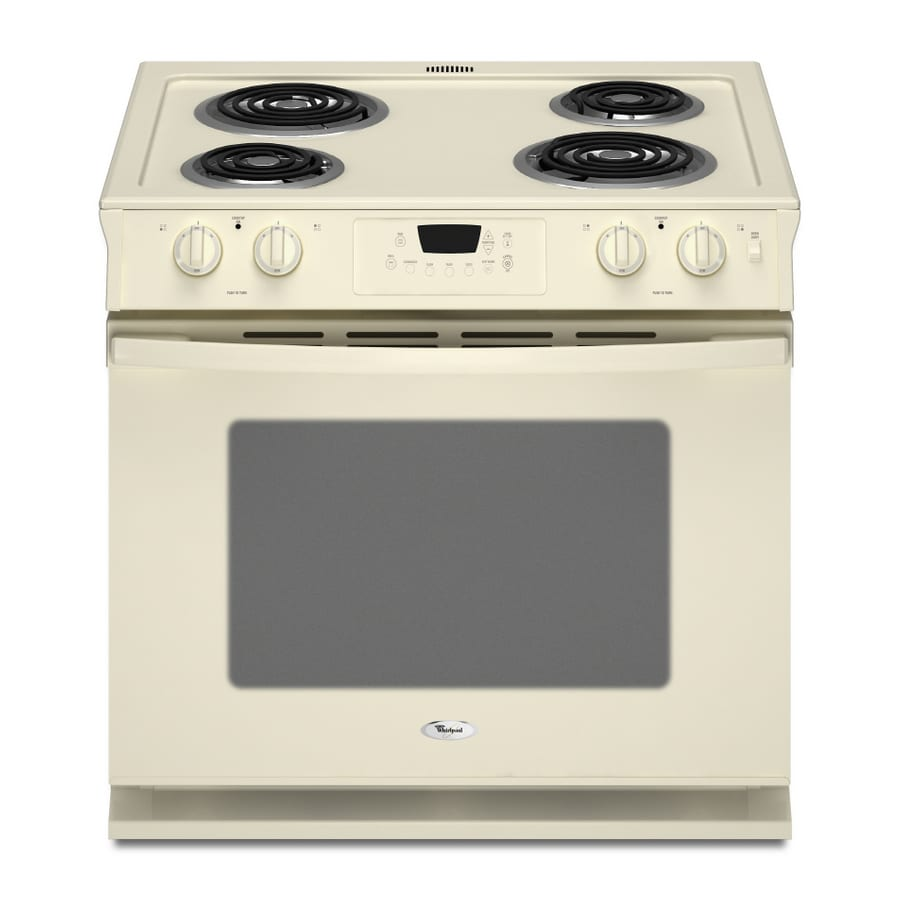 Shop Whirlpool 30 Inch Drop In Electric Range Color