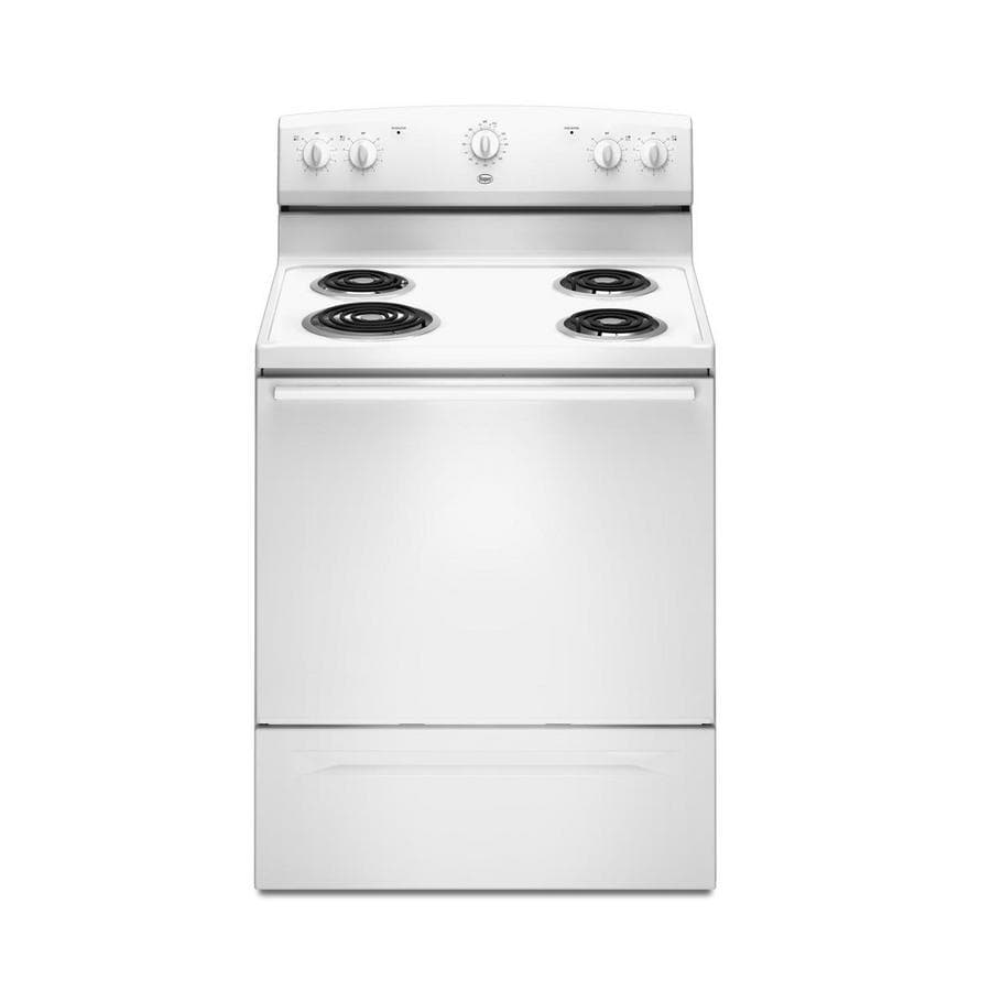 Roper� 30-Inch Freestanding Electric Range (Color: White)