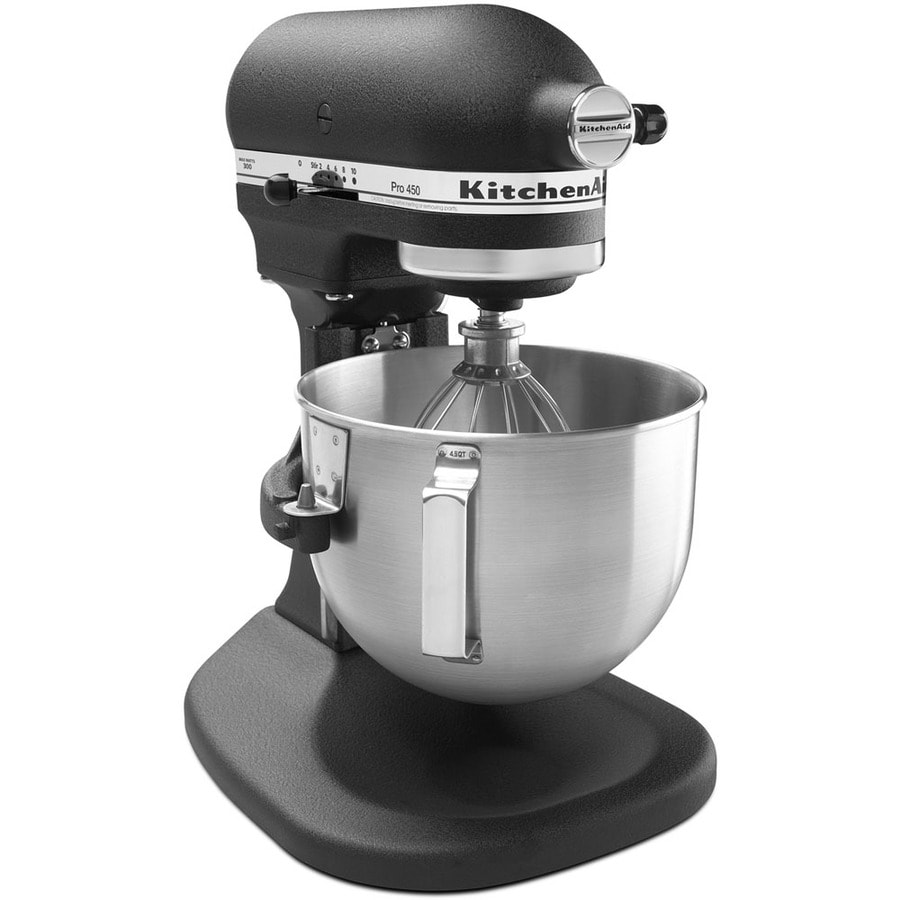 KitchenAid Pro 450 Series 4.5 Quart 10 Speed Imperial Black Stand Mixer