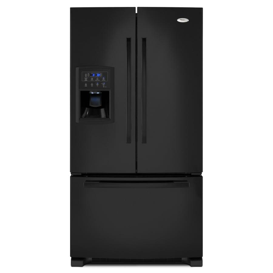 Whirlpool French Door Counter Depth Refrigerator: Shop Whirlpool Gold 19.8 Cu Ft French Door Counter-Depth